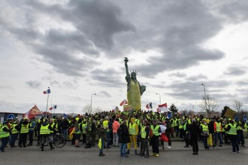 A Colmar, la Statue de la liberté enfile un