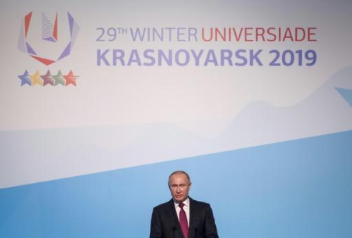 Universiade d'hiver en Russie: Poutine salue une