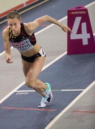Euro d'athlétisme en salle - Renée Eykens en finale du 800m avec le 2e chrono