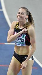 Euro d'athlétisme en salle - Renée Eykens voulait