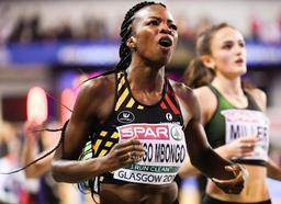 Euro d'athlétisme en salle - Cynthia Bolingo en argent à 1/100e de l'or et nouveau record de Belgique