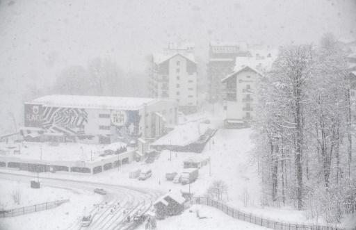 Ski alpin: le super-G de Rosa Khutor annulé