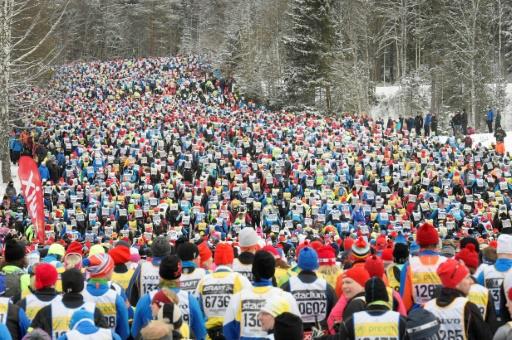 Ski de fond: 15.000 fondeurs à l'assaut de la plus grande course de ski de fond du monde
