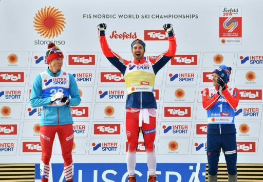 Ski de fond: le Norvégien Holund champion du monde de 50 km