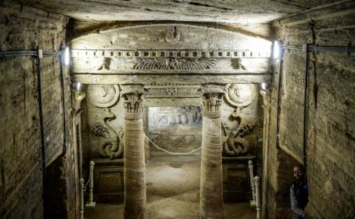Egypte: des catacombes de 2.000 ans préservées de la montée des eaux souterraines