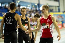 Euro d'athlétisme en salle - Julien Watrin lancera le relais des Tornados, Kevin Borlée le terminera