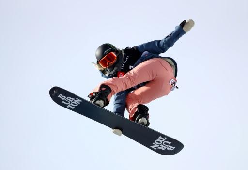 Snowboard: Chloe Kim s'est fracturée une cheville