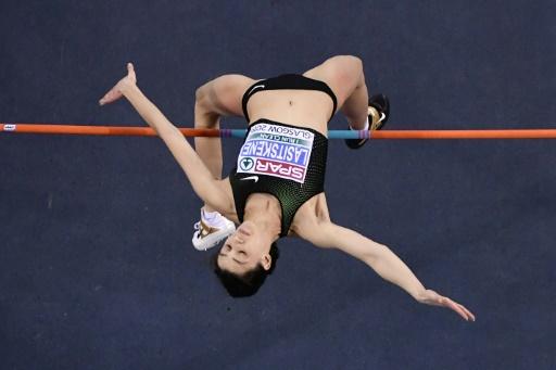 Euro d'athlétisme: la Russe Mariya Lasitskene remporte la hauteur