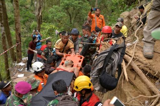 Indonésie: l'espoir s'amenuise pour les mineurs prisonniers d'une mine d'or effondrée
