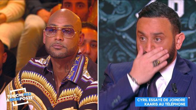 La boulette de Cyril Hanouna: il dévoile le numéro de Kaaris en direct