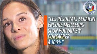 Malgré les bons résultats, Camille Laus, coureuse de 400 mètres, ne peut vivre de l'athlétisme