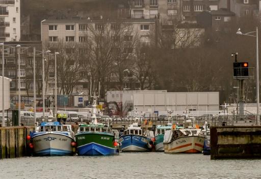 A Boulogne-sur-Mer, les pêcheurs dans la