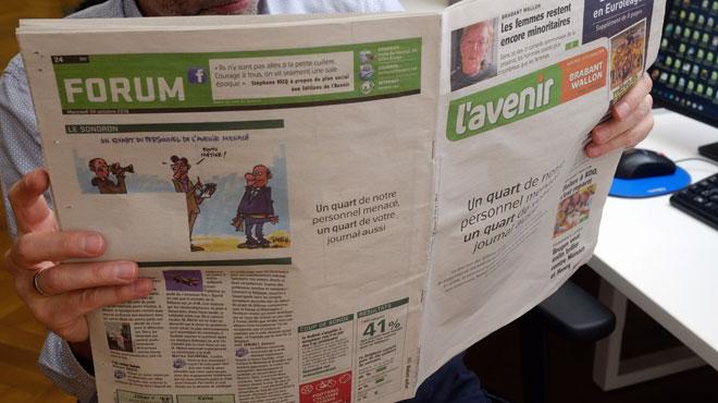 La grève se poursuit à la rédaction de L'Avenir: