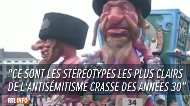 Caricature de Juifs au nez crochu entourés de coffres-forts: le char controversé du carnaval d'Alost continue de susciter l'indignation