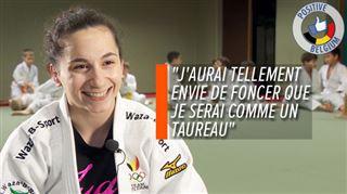 Tenue à l'écart des tatamis par une commotion cérébrale, la judokate et auteure Lola Mansour rêve désormais de revenir au plus haut niveau