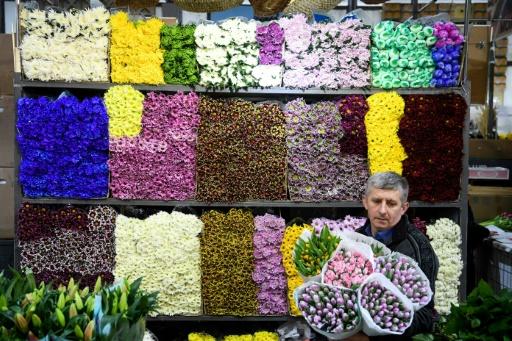Russie: ruée sur les fleurs pour le 8 mars