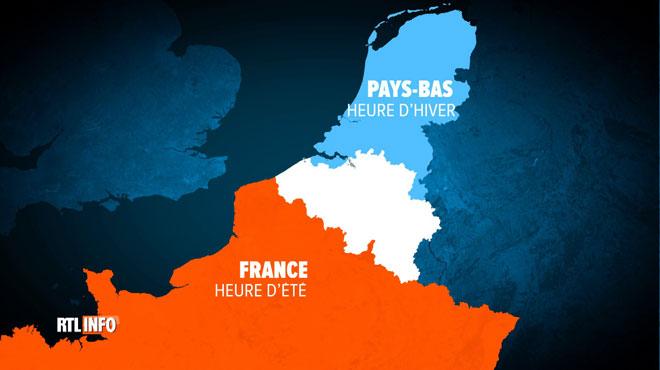Heure d'hiver ou heure d'été: la Belgique va-t-elle s'aligner sur l'avis de la France ou celui des Pays-Bas? (sondage)
