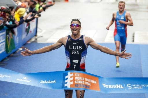 Série mondiale de triathlon: Vincent Luis