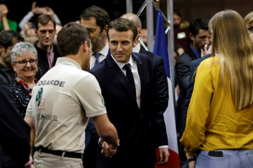 Macron veut aller