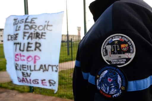Prison de Condé-sur-Sarthe: troisième jour de blocage