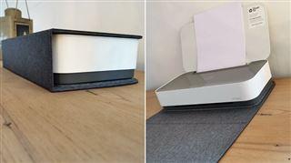Les tests de Mathieu- cette imprimante se transforme en livre pour passer inaperçue sur une étagère