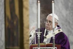 Le pape préoccupé par la