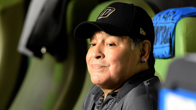 La famille Maradona va s'agrandir — Argentine