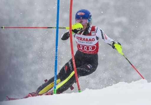 Ski alpin: Shiffrin remporte sa 15e victoire de l'hiver, un record