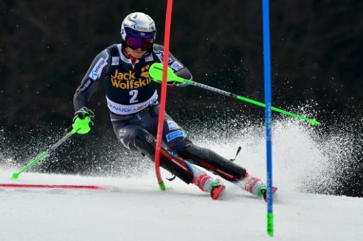 Ski: Kristoffersen en tête de la première manche du slalom de Kranjska Gora