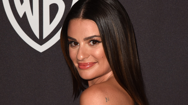 Découvrez la sublime robe portée à la cérémonie — Lea Michele mariée