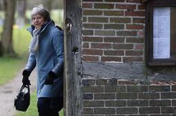 Theresa May lundi soir à Strasbourg pour essayer de finaliser un compromis