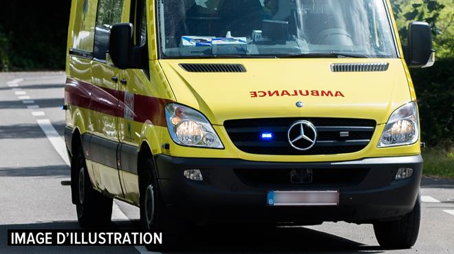 Accident mortel à Malmedy: une dame renversée par un camion, le chauffeur a pris la fuite