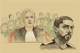 Prison à vie requise contre Nemmouche, pour qui la vie continue