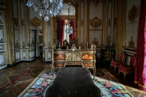 Versailles: lancement de la restauration du cabinet du roi