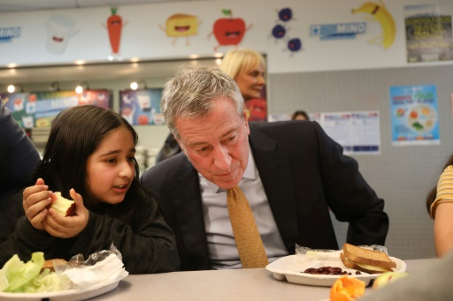 Un jour par semaine sans viande dans les cantines scolaires new-yorkaises