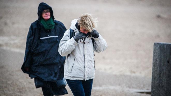 Le vent va encore souffler fort aujourd'hui: des rafales jusqu'à 90km/h attendues