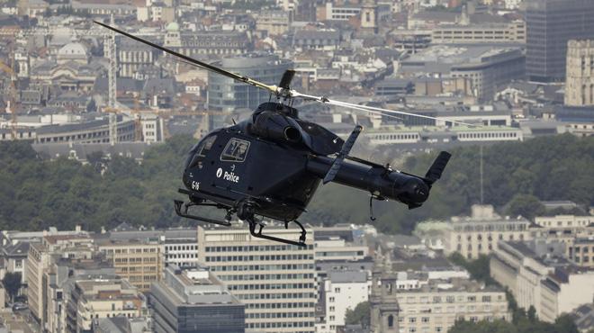 Vol à main armée à Woluwe-Saint-Lambert: voici pourquoi un hélicoptère a survolé la zone hier soir
