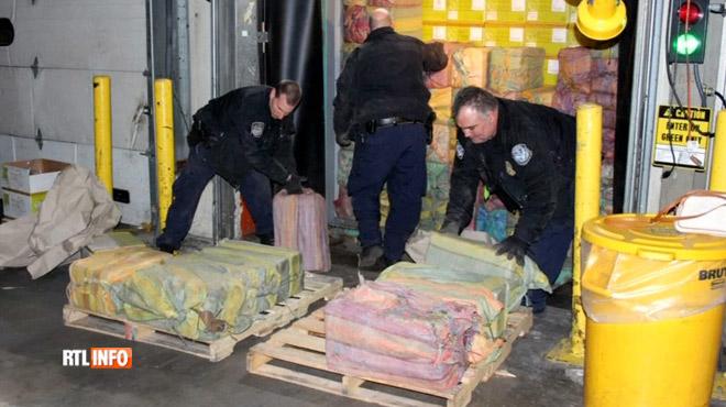 Du JAMAIS VU depuis 25 ans: 1,5 tonne de cocaïne saisie dans le port de New York