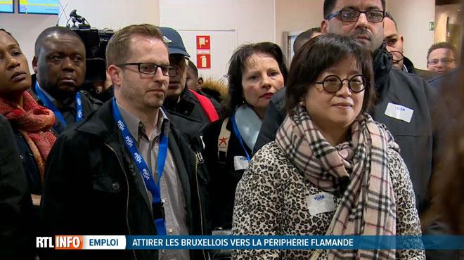 Être employé en Flandre effraye de nombreux Bruxellois