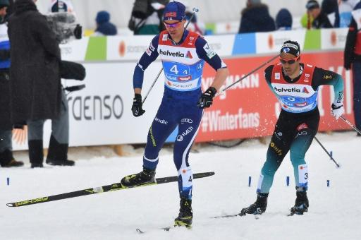 Ski de fond: Richard Jouve 3e du sprint de Drammen
