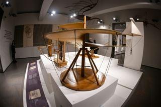Rome présente une grande exposition sur Léonard le scientifique