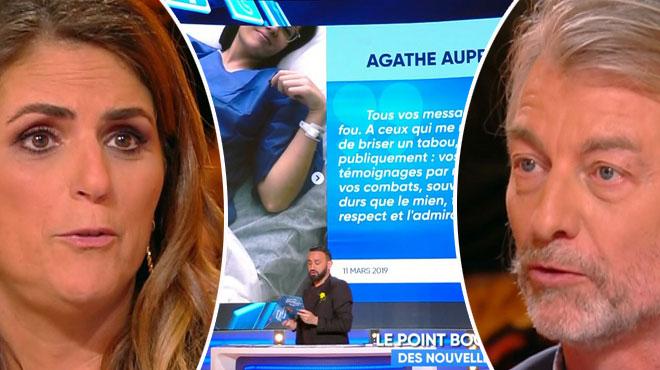 Les chroniqueurs de TPMP reviennent sur la volonté d'Agathe Auproux de révéler sa maladie: