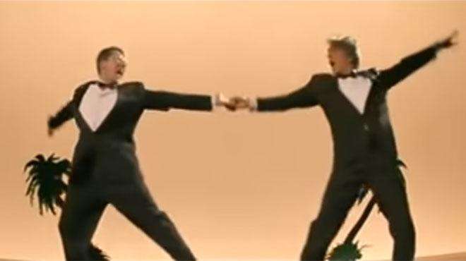 Une pétition pour que Gérard Darmon et Alain Chabat dansent La Carioca — Cannes