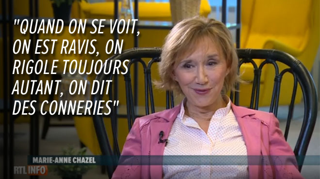 Les Mercredis d'Amélie: Marie-Anne Chazel se confie sur une éventuelle reformation de la joyeuse bande des Bronzés