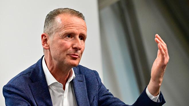 En plein discours, le patron de VW reprend un slogan nazi pour parler des mauvais résultats de l'entreprise: