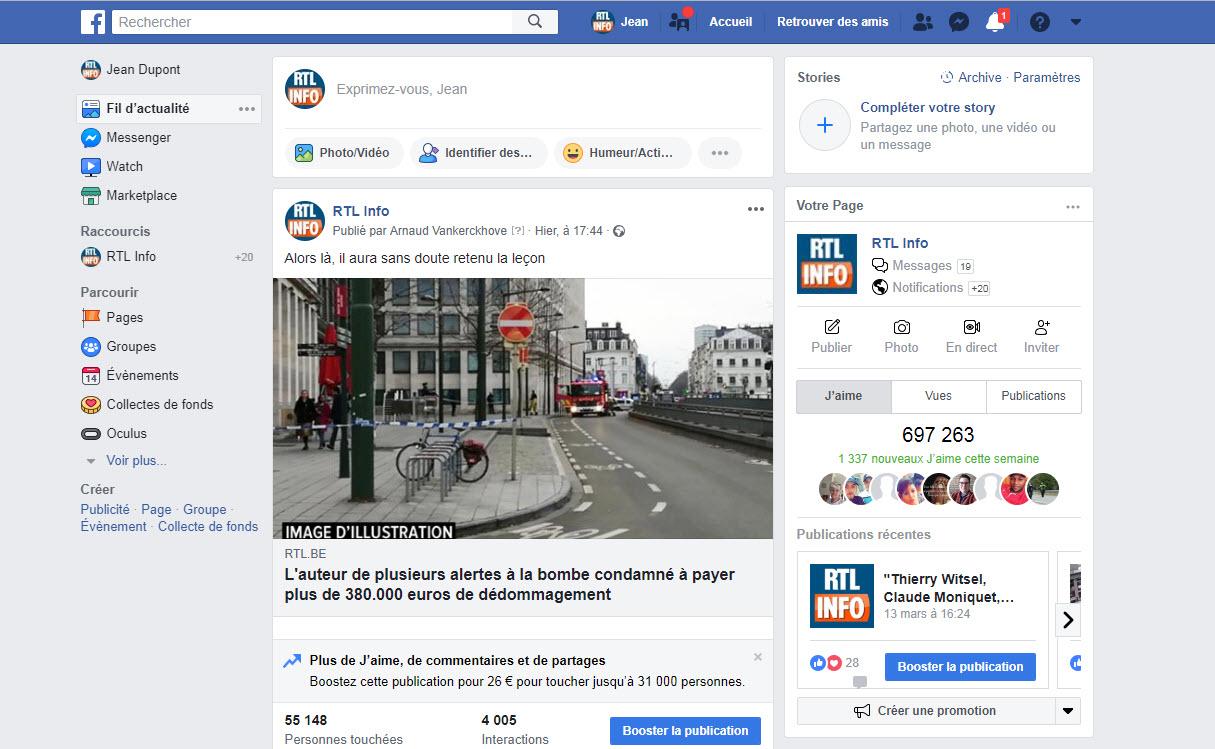 Une panne touchant Facebook et Instagram irrite leurs utilisateurs: