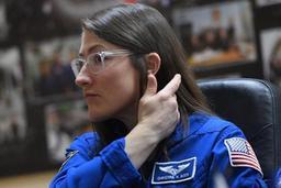 Les astronautes russe et américains prêts à partir jeudi vers l'ISS