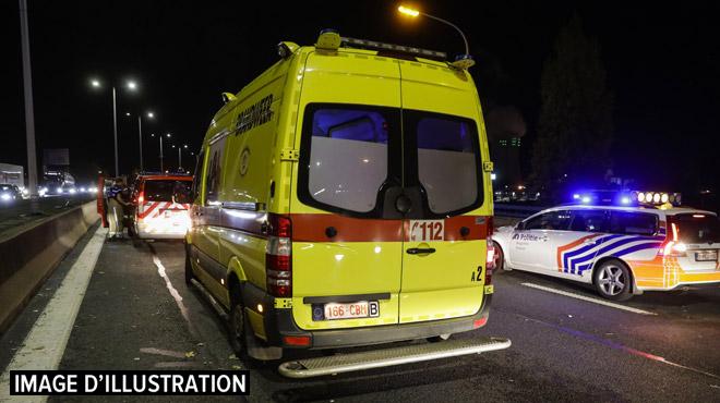 La partie nord du Ring de Bruxelles paralysée par 2 accidents ce jeudi matin