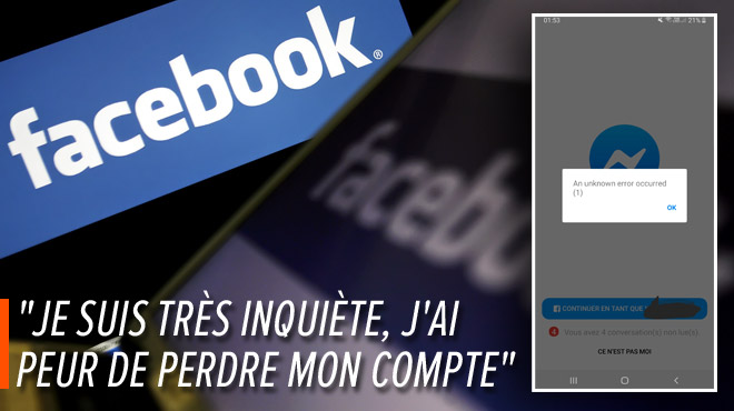 Facebook touché par la plus grande panne de son histoire: sale journée pour le réseau social N.1