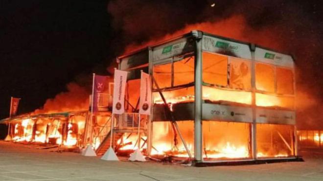 Les motos du futur Championnat MotoE ont été détruites par un incendie